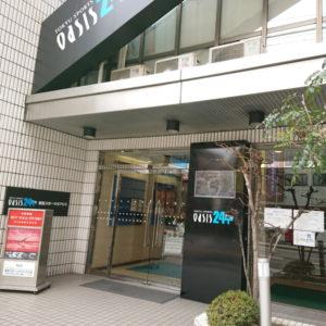 江坂アパートメント 同じ建物内にスポーツジムが!