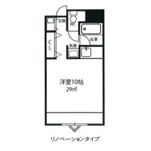 Bタイプ リノベーション 江坂アパートメント